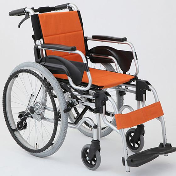 車椅子自走介助兼用車椅子[美和商事]デラックスⅡHTB-22DX車イス/車いす/車椅子/送料無料