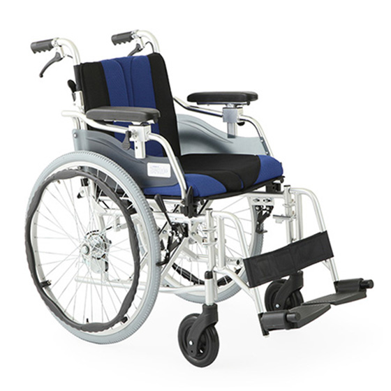 車椅子自走介助兼用多機能車椅子[美和商事]デラックスEZHTB-22EZ車イス/車いす/車椅子/送料無料