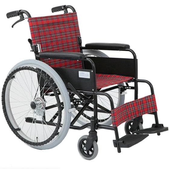 車椅子自走介助兼用車椅子[美和商事]アミー22MW-22AⅡ車イス/車いす/車椅子/送料無料
