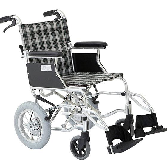 車椅子 送料無料 軽量 コンパクト 持ち運び 選べるカラー カラフル 介助用 美和商事 ミニポン HTB-12D バンドブレーキ仕様 収納 折りたたみ 持ち手 車 旅行 お出かけ トランク 女性 軽い プレゼント ギフト 父の日