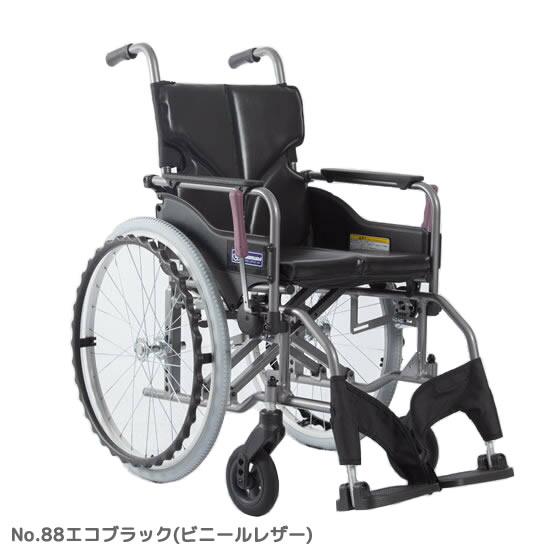 カワムラサイクル モダンシリーズ A-style 標準タイプ 自走用 車椅子 KMD-22A-(40/42)S-(M/H/SH) ノーパンク 背固定 介助ブレーキ無