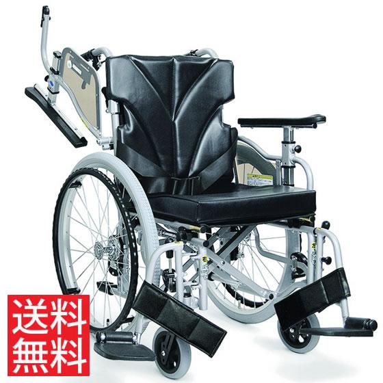 使いやすい シート高さ調節可能 シート奥行調節可能 車椅子 クッション付き 簡易調節 モジュール エアタイヤ 跳ね上げ スイングアウト JISマーク 自走用 KZM22-40(38・42)-43 カワムラサイクル 送料無料 折り畳み 調整 車イス 車いす プレゼント ギフト