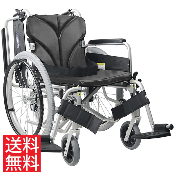 送料無料 カワムラサイクル KA822-40(38・42)B-LO 自走用 低床 車椅子 肘跳ね上げ モジュール 折りたたみ 折り畳み 人気 車イス 車いす 22インチKA800シリーズ
