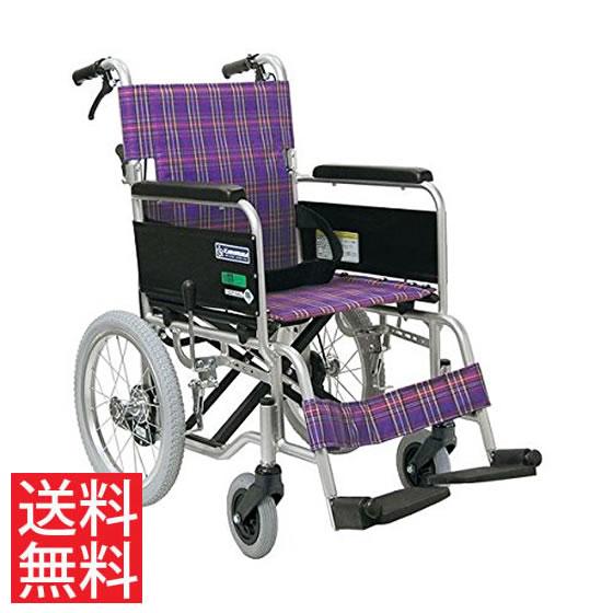 病院 施設 人気 スタンダード 車椅子 アルミ製 介助用 ノーパンクタイヤ KA402SB JISマーク カワムラサイクル 送料無料 16インチ シートベルト 車イス 車いす くるまいす