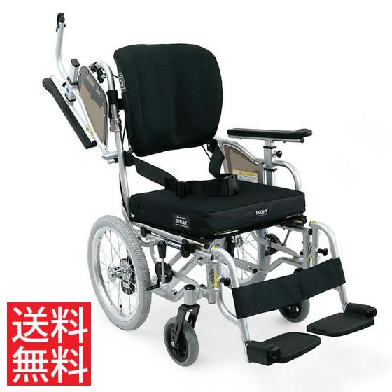 足こぎ 超々低床 シート奥行調節可能 車椅子 クッション付 アイコンバック 高さ調節 跳ね上げ スイングアウト 介助用 KZ16-40(38・42)-SSL/ICR カワムラサイクル 送料無料 折り畳み 体幹支持 調整 低い 小柄 車イス 車いす