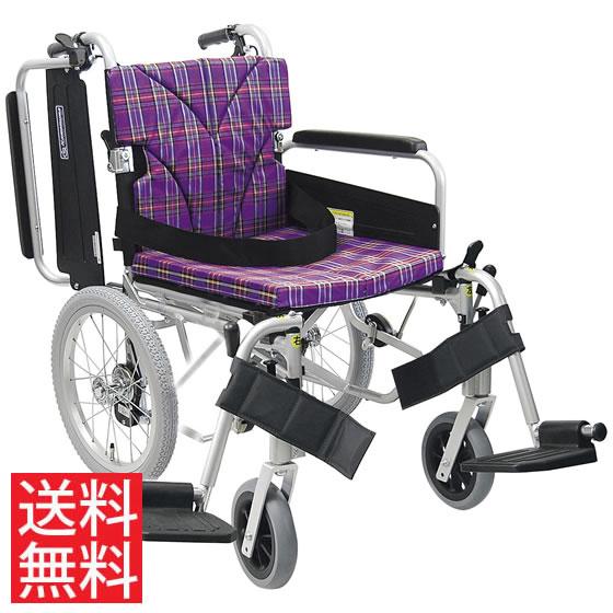 簡易調節 車椅子 エアタイヤ 介助用 送料無料 カワムラサイクル KA800シリーズ KA816-40(38・42)B-M モジュール 調整 調節 折り畳み 16インチ シートベルト スイングアウト 肘跳ね上げ 人気 車イス 車いす