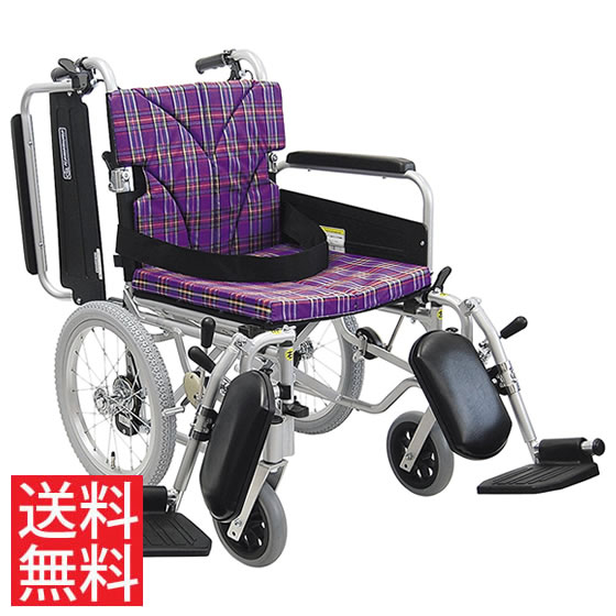 簡易調節 車椅子 エアタイヤ 介助用 送料無料 カワムラサイクル KA800シリーズ KA816-40(38・42)ELB-M モジュール 調整 調節 折り畳み 16インチ シートベルト エレベーティング 肘跳ね上げ 人気 車イス 車いす
