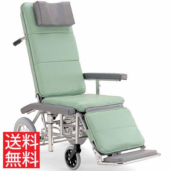送料無料 カワムラサイクル 介助用 フルリクライニング車椅子 RR70N 介助ブレーキなし (背部・脚部)連動仕様 | 車いす 車イス くるまいす エアタイヤ 介助ブレーキなし 足踏み駐車ブレーキ 簡易ストレッチャー