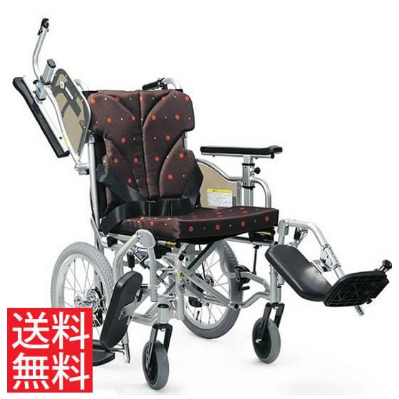 使いやすい シート高さ調節可能 低床 車椅子 クッション付き 跳ね上げ スイングアウト エレベーティング 介助用 KZM16-40(38・42)-41EL カワムラサイクル 送料無料 16インチ 折り畳み 調整 低い 小柄 車イス 車いす くるまいす