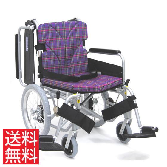 簡易調節 低床 車椅子 エアタイヤ 介助用 送料無料 カワムラサイクル KA800シリーズ KA816-40(38・42)B-LO モジュール 調整 調節 低い 折り畳み 16インチ シートベルト 肘跳ね上げ 人気 車イス 車いす プレゼント ギフト
