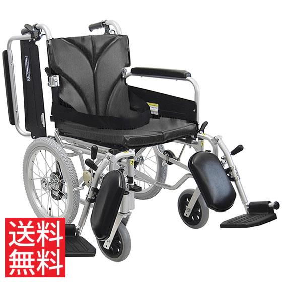 簡易調節 低床 車椅子 エアタイヤ 介助用 送料無料 カワムラサイクル KA800シリーズ KA816-40(38・42)ELB-LO モジュール 調整 調節 低い 折り畳み 16インチ シートベルト エレベーティング 肘跳ね上げ 人気 車イス 車いす