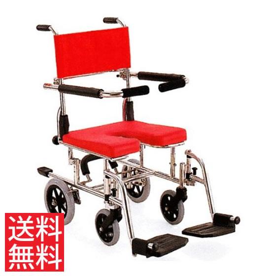 シート高さ調節 シャワー用 車椅子 KS10 カワムラサイクル ステンレス製 クリありシート フットブレーキ スイングアウト 跳ね上げ 介助用 病院 施設 在宅 介護 お風呂 入浴 車いす 車イス くるまいす