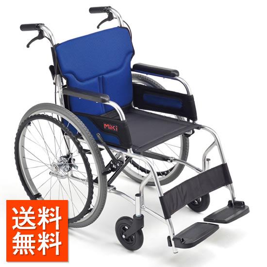 送料無料 車椅子 軽量 コンパクト 超軽量 軽い 国産 MIKI ミキ カルーンシリーズ M-43RK シンプル おしゃれ 自走用 自走介助兼用 折り畳み 折りたたみ 車いす 車イス くるまいす 軽量車椅子 赤 レッド 受注生産