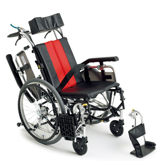 送料無料 車椅子 コンパクト ティルト リクライニング 多機能 MIKI ミキ TRシリーズ TR-1 自走用 自走介助兼用 車イス 車いす くるまいす スイングアウト 跳ね上げ 高さ調整 背折れ プレゼント