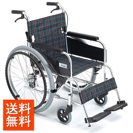 送料無料 車椅子 低座面 低床 シンプル スタンダード 折り畳み 折りたたみ 介助ブレーキ シート幅が選べる MIKI ミキ MPN-40JD 自走用 自走介助兼用 車イス 車いす くるまいす 使いやすい 施設 病院