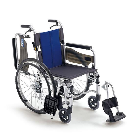 送料無料 車椅子 肘跳ね上げ スイングアウト シンプル 使いやすい 初めて 人気 車いす 車イス 便利 MIKI ミキ BALシリーズ BAL-3 自走用 ノーパンク 折りたたみ 移乗 コンパクト ブレーキ付 施設 病院 自宅 プレゼント