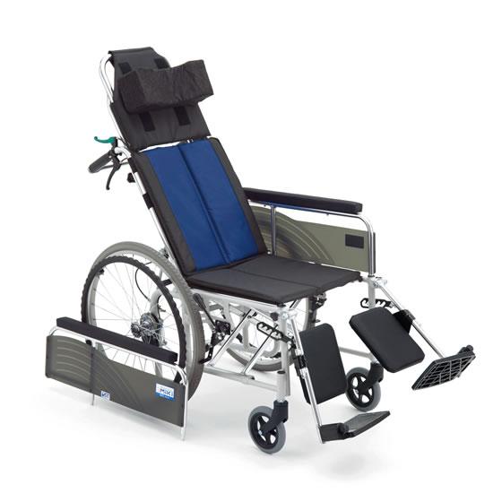送料無料 車椅子 リクライニング 無段階 エレベーティング 足の角度 ノーパンク MIKI ミキ BALシリーズ BAL-13 自走用 自走介助兼用 アームサポート取り外し 車いす 車イス シンプル 使いやすい 人気 定番 安い 施設 病院 受注生産品