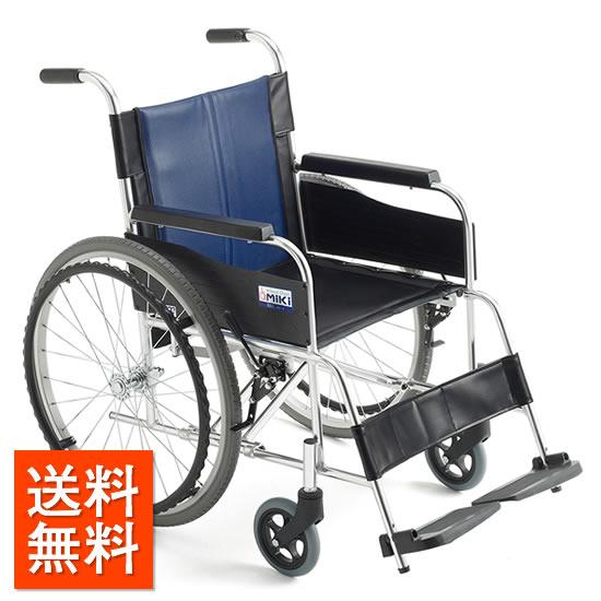 送料無料車椅子 スタンダード シンプル 使いやすい 初めて MIKI ミキ BALシリーズ BAL-0W 自走用 車いす 車イス ワイド ワイドタイプ 幅広 大柄 ノーパンク 人気 安い 定番 施設 店舗 病院 受注生産品