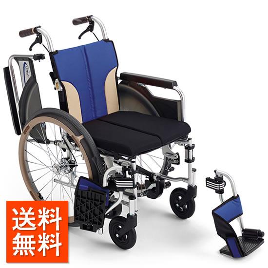 送料無料 車椅子 自動ブレーキ ノンバックブレーキシステム コンパクト 機能充実 ヒヤリハット スレンダー MIKI とまっティシリーズ SKT-400B 自走用 ブレーキかけ忘れ レザーシート 機能充実 スイングアウト 肘跳ね上げ 折りたたみ 折り畳み