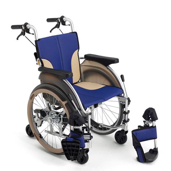 車椅子 自走介助兼用 室内用スレンダー6輪車椅子 [MiKi/ミキ] skit500 SKT-500 車イス/車いす/車椅子/送料無料