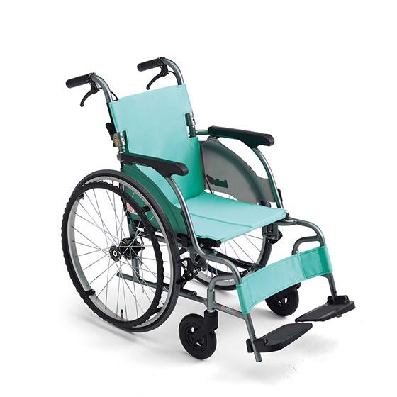 コンパクト 超軽量 スリム 車椅子 低床 足こぎ 小柄 低座面 送料無料 人気 スタンダード MIKI ミキ CRT-1Lo 自走用 車いす 車イス 折りたたみ エアタイヤ おじいちゃん おばあちゃん 施設 病院 自宅 安い 折り畳 ピンク グリーン かわいい