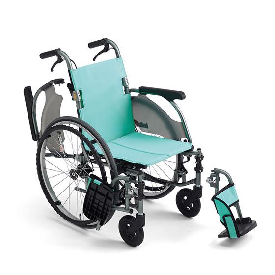 コンパクト 超軽量 スリム 車椅子 低床 足こぎ 小柄 低座面 肘跳ね上げ スイングアウト 送料無料 人気 MIKI ミキ CRT-3Lo 自走用 車いす 車イス 折りたたみ エアタイヤ 施設 病院 自宅 安い ピンク グリーン かわいい