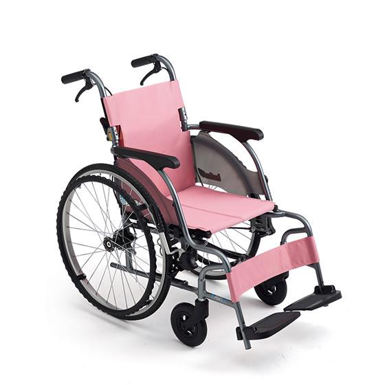 コンパクト 超軽量 スリム 車椅子 ワンハンドブレーキ 低床 足こぎ 小柄 低座面 送料無料 人気 MIKI ミキ CRT-5Lo 自走用 車いす 車イス 折りたたみ ノーパンクタイヤ 施設 病院 自宅 安い ピンク グリーン 折り畳み ハイポリマー かわいい