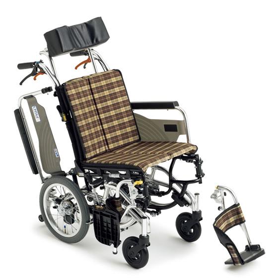 送料無料 車いす コンパクト ティルト 折り畳み 折りたたみ MIKI ミキ スキットシリーズ SKT-7 介助用 車椅子 車イス ずり落ち防止 転倒防止 スリム 自宅 使いやすい