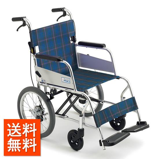 送料無料 車椅子 超々軽量 軽量 軽い コンパクト MIKI ミキ ニューライト MC-43SK SP 介助用 車いす 車イス くるまいす 軽量車椅子 女性 持ち運び 頑丈 受注生産