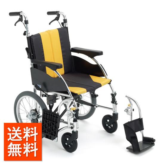 介助者の負担軽減 送料無料 車椅子 ハンドル高さ調整 スイングアウト モジュール MIKI ミキ URシリーズ UR-4 介助用 車いす 車イス 折り畳み 折りたたみ 腰が痛い 腰痛 シンプル スタンダード 人気 おしゃれ 受注生産