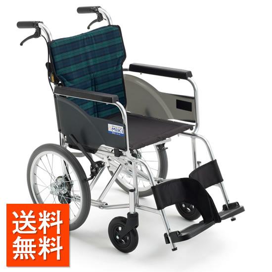 送料無料 車椅子 軽量 軽い シンプル 女性 高齢者 持ち運び ノーパンク MIKI ミキ BALシリーズ BAL-8 SP 介助用 車いす 車イス 折りたたみ 使いやすい 人気 定番 スタンダード 安い 受注生産