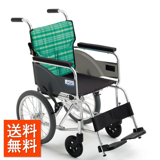 送料無料 車椅子 受注生産 MIKI ミキ BALシリーズ BAL-8 介助用 軽い シンプル 軽量 折りたたみ 使いやすい 車いす 車イス 施設 病院 自宅 持ち運び 女性
