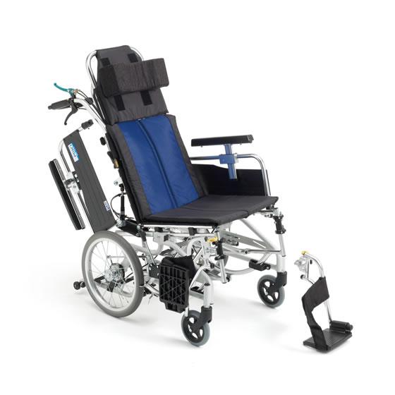 送料無料 車椅子 ティルト リクライニング コンパクト 機能充実 多機能 介助者 負担軽減 足踏みブレーキ 使いやすい シンプル 人気 定番 MIKI ミキ BALシリーズ BAL-12 介助用 車いす 車イス 折り畳み おすすめ