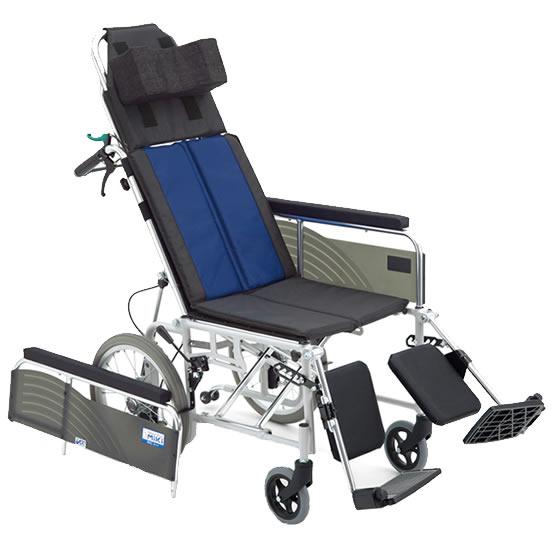 送料無料 車椅子 リクライニング 無段階 背もたれ倒れる エレベーティング 足の角度 ノーパンク MIKI ミキ BALシリーズ BAL-14 介助用 車イス 車いす シンプル 使いやすい アームサポート取り外し 人気 定番 安い 施設 病院 自宅