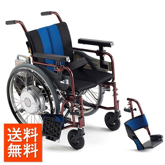 車椅子 電動車椅子 電動アシスト [MiKi/ミキ] JWX-2F ニッケル水素バッテリー 車イス/車いす/車椅子/送料無料