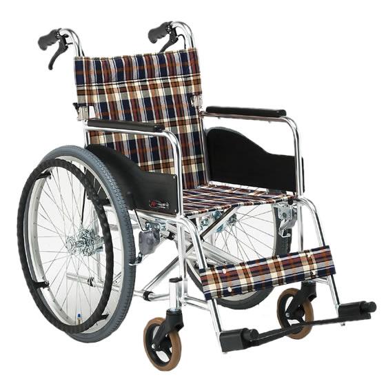 車椅子 スタンダード シンプル 使いやすい 人気 アルミ製 折り畳み 折りたたみ 介助用ブレーキ 松永製作所 ARシリーズ AR-201B 自走用 自走介助兼用 車いす 車イス くるまいす 病院 施設 自宅 プレゼント 母の日