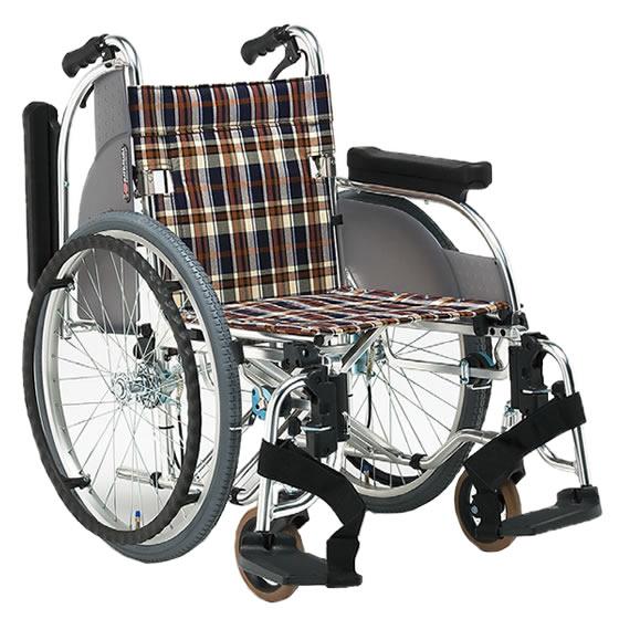 車椅子 多機能 スイングアウト 肘跳ね上げ 折り畳み 折りたたみ 介助用ブレーキ 選べる座幅 松永製作所 ARシリーズ AR-501 自走用 自走介助兼用 車いす 車イス くるまいす 男性 女性 人気 プレゼント 父の日