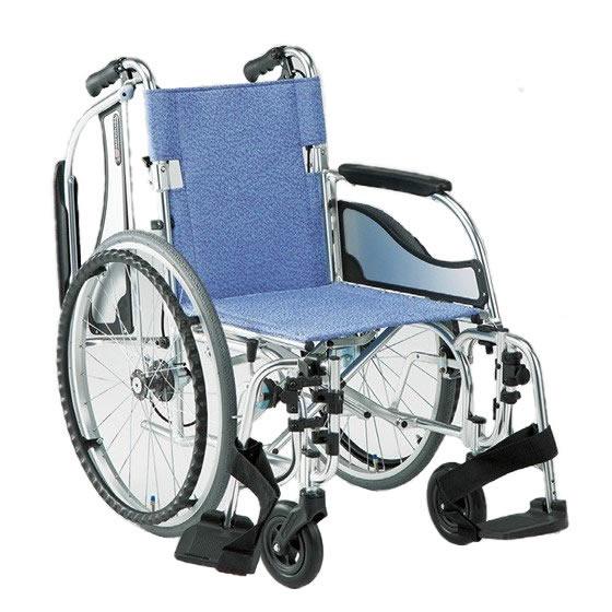 車椅子 軽量 多機能 軽い スイングアウト 肘跳ね上げ 移乗 折り畳み 折りたたみ 介助用ブレーキ 松永製作所 エアリアルシリーズ MW-SL31B 自走用 自走介助兼用 車いす 車イス くるまいす プレゼント 父の日