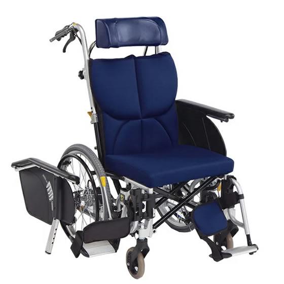 車椅子 ティルト リクライニング コンパクト 小柄 女性 スイングアウト シート張り調整 折り畳み 折りたたみ 転倒防止 介助用ブレーキ 松永製作所 OS-11TRS 自走用 自走介助兼用 車いす 車イス 自宅 施設 プレゼント 父の日