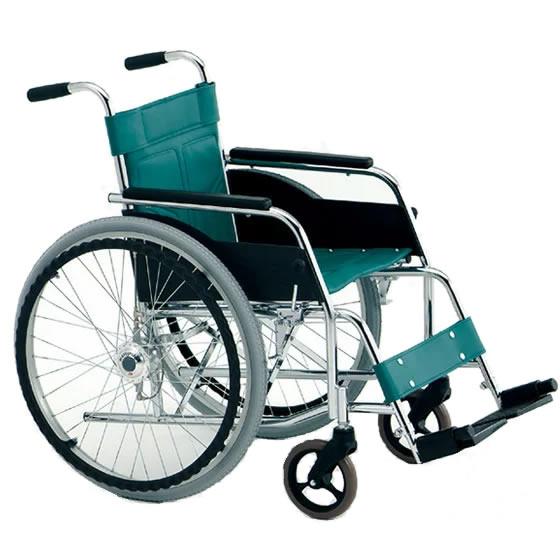 車椅子 エアハブ 空気入れ不要 快適な乗り心地 スタンダード シンプル スチール製 丈夫 頑丈 松永製作所 ポンプ内蔵車輪付車椅子 受注生産 エアハブシリーズ DM-81AH 自走用 自走式 車いす 車イス 特殊機能 施設 自宅 プレゼント 父の日