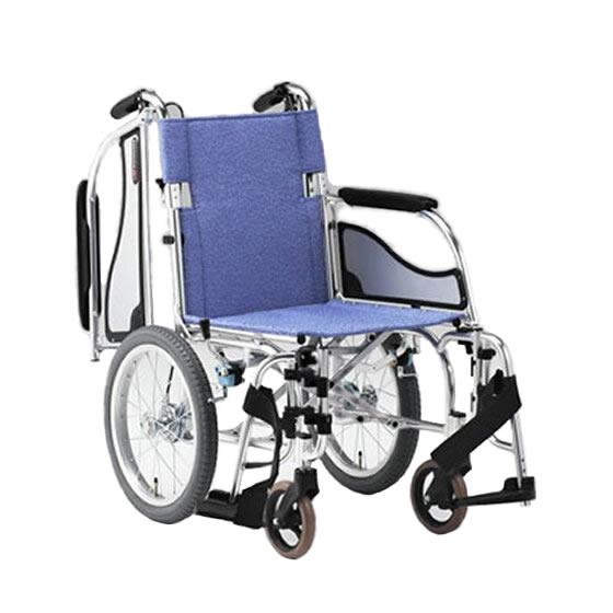 車椅子 軽量 多機能 軽い スイングアウト 肘跳ね上げ 移乗 折り畳み 折りたたみ 介助用ブレーキ 松永製作所 エアリアルシリーズ MW-SL41B 介助用 介助式 車いす 車イス くるまいす プレゼント 母の日 スーパーセール