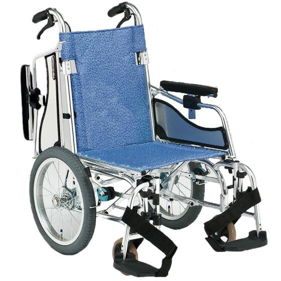 車椅子 低床 低座面 軽量 軽い スイングアウト 肘跳ね上げ 多機能 使いやすい 小柄 身長低い 女性 折り畳み 折りたたみ ブレーキ 松永製作所 MW-SL6B 介助用 介助式 車いす 車イス 車いす プレゼント 母の日