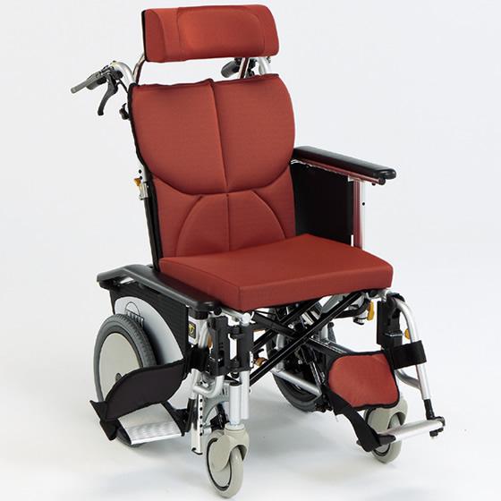 車椅子 ティルト リクライニング コンパクト 小柄 女性 スイングアウト シート張り調整 折り畳み 折りたたみ 転倒防止 介助用ブレーキ 松永製作所 OS-12TRS 介助用 介助式 車いす 車イス 自宅 施設 プレゼント 父の日