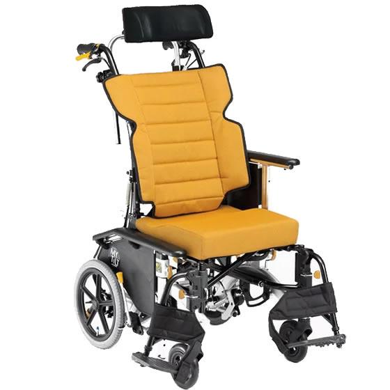車椅子 超スリム コンパクト ティルト リクライニング 背張り調整 3Dモデル 側彎 骨盤サポート 体幹 折り畳み 折りたたみ 室内 小回り 松永製作所 マイチルト・コンパクト-3D MH-CR3D 介助式 車いす 車イス プレゼント 父の日