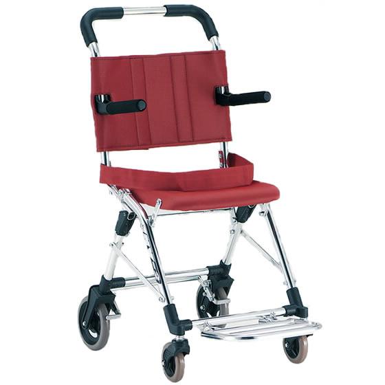 車椅子 軽量 コンパクト 超軽量 コンパクトカー 松永製作所 MV-2 背固定 新幹線 バス 車 トランク 旅行 携帯 簡易 足踏みブレーキ シートベルト お出かけ 収納 折りたたみ 軽い 女性 プレゼント ギフト 父の日