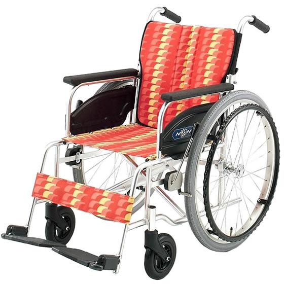 標準 スタンダード 車椅子 NA-400シリーズ Aタイプ NA-406A 自走用 折りたたみ 送料無料 日進医療器 nissin 22インチ 車イス 車いす くるまいす 折り畳み