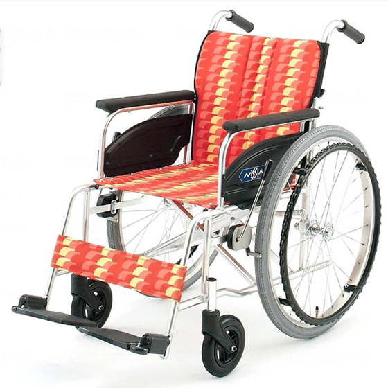 標準 スタンダード 車椅子 NA-400シリーズ Aタイプ NA-426A 自走用 折りたたみ 送料無料 日進医療器 nissin 22インチ 車イス 車いす くるまいす 折り畳み