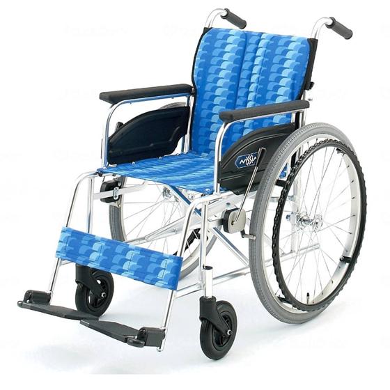 標準 スタンダード 車椅子 NA-400シリーズ Aタイプ NA-446A 自走用 折りたたみ 送料無料 日進医療器 nissin 22インチ 車イス 車いす くるまいす 折り畳み