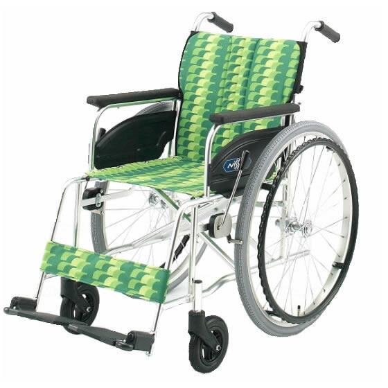 標準 スタンダード 車椅子 NA-400シリーズ Aタイプ NA-466A 自走用 折りたたみ 送料無料 日進医療器 nissin 24インチ 車イス 車いす くるまいす 折り畳み
