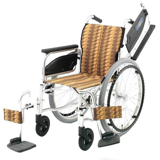 多機能 つかいやすい 車椅子 NA-400シリーズ Wタイプ NA-426W 自走用 折りたたみ 肘跳ね上げ スイングアウト 送料無料 日進医療器 nissin 22インチ 車イス 車いす くるまいす 折り畳み